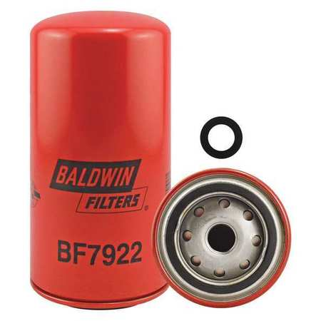 Fuel Filter, 7-7/32 x 3-11/16 x 7-7/32 In