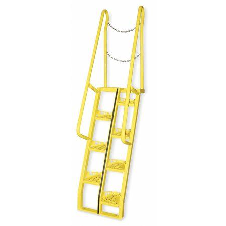 Alternating Tread Stairs, Walkthrough, 8 Ft.