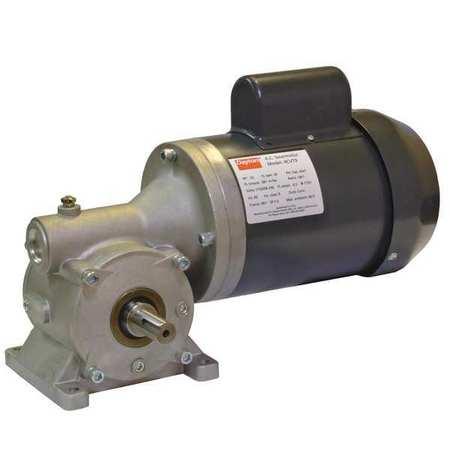 AC Gearmotor, 68 rpm, TEFC, 115/208-230V