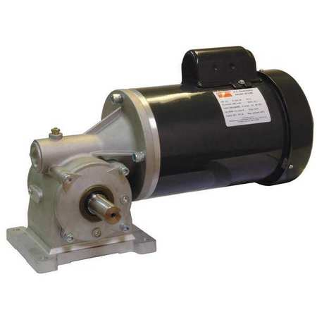 AC Gearmotor, 56 rpm, TEFC, 115/208-230V