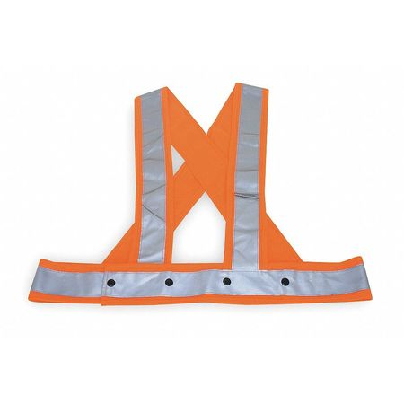 2XL/3XL Hi-Vis Sash,  Orange