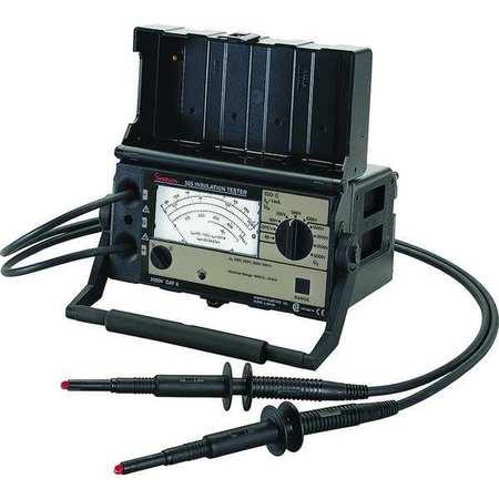 Battery Operated Megohmmeter, 5000VDC