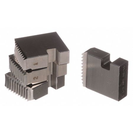 Pipe Thread Die, 1 1/2In, For SS, 4Pc