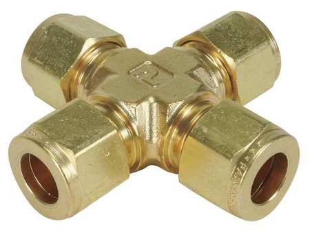 "3/8"" CPI Brass Union Cross"