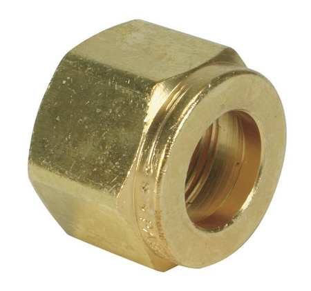 "3/4"" Compression Brass Tube Nut"