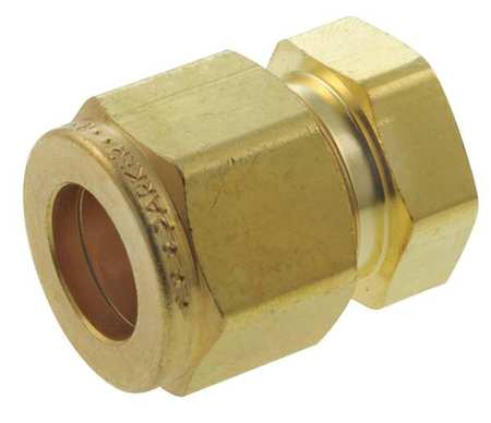 "3/8"" Compression Brass Plug"