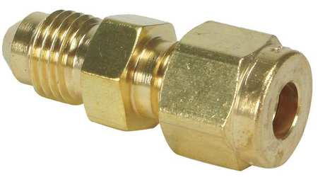 "1/4"" CPI x Flare Brass 37 Degree Flare Connector"