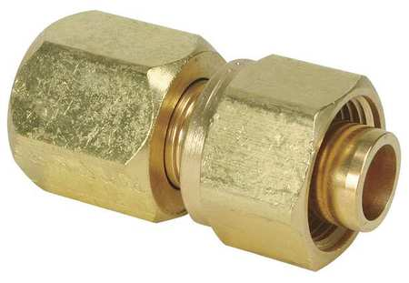 "3/8"" CPI x Flare Brass 37 Degree Flare Connector"