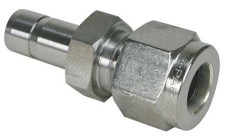 "1/4"" A-LOK x Tube Stub SS Tube End Reducer"