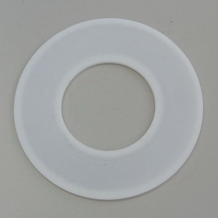 Flange Gasket, Ring, 3/4 In, PTFE