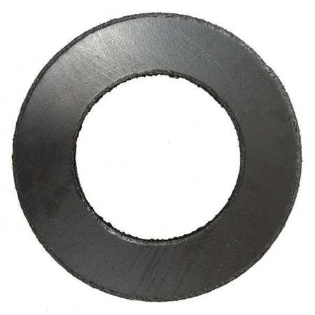 Flange Gasket, Ring, 5 In, Graphite