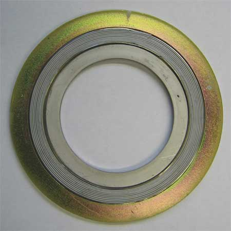 Flange Gasket, Ring, 2 1/2 In, Carbon Steel