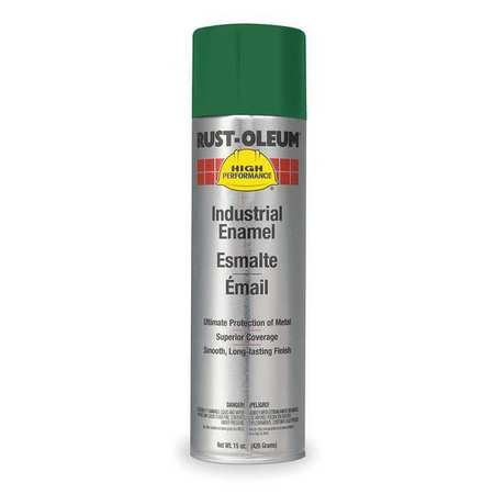 Spray Paint, Green, 15 oz.