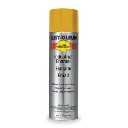 Spray Paint, Caterpillar Yellow, 15 oz
