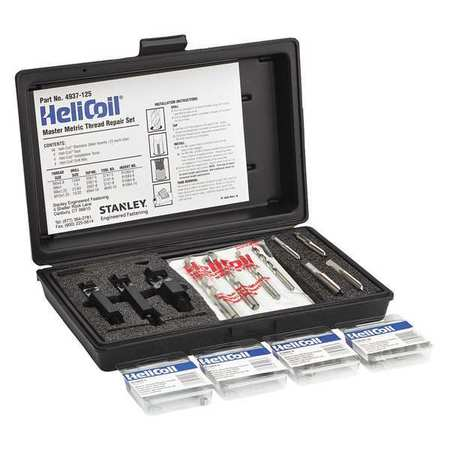 Thread Repair Kit, SS, Metric, 60 Pc