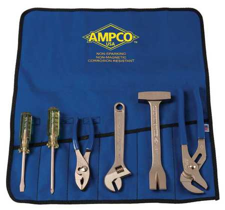 Hazmat Nonsparking Tool Set, 6 pc.