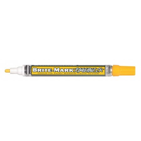 Dykem brite mark paint marker 3 32 fine tip yellow 84204 for Dykem paint markers