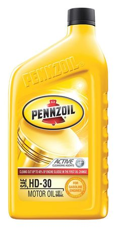Pennzoil Engine Oil 30w Conventional 1 Qt Penz30 Zorocom