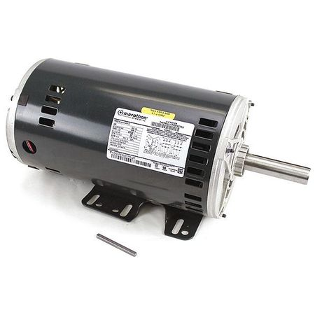 Carrier motor 208 230 460v 3 phase 5 hp 1725 rpm for 3 phase 3hp motor