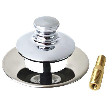 watco bathtub stopper and drain push pull 48751 pp cp