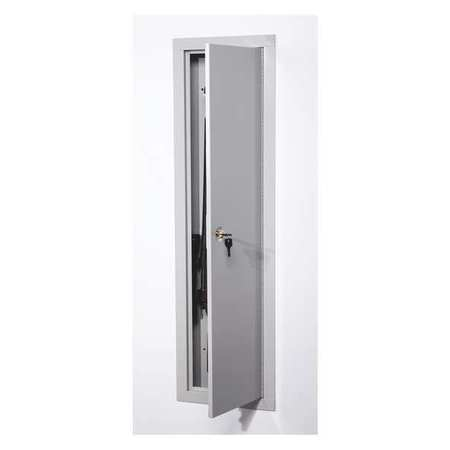 Wall Cabinet Safe,White,Weight 32 lb.