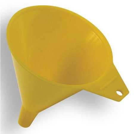 "Funnel, Polyethylene, 8 oz., 3-1/2Hx4-1/2""D"