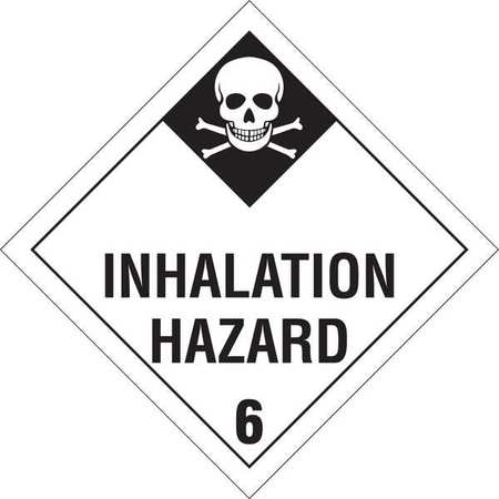 Vehicle Placard, Inhalation Hazard