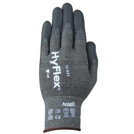 11-727VP HYFLEX Cut Resistant Gloves,Size 8,Gray,PR Gray
