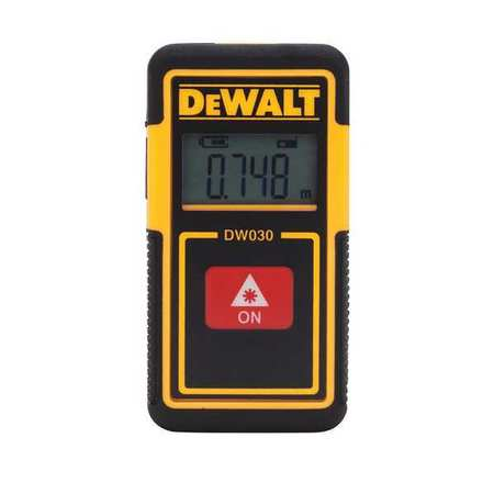 Laser Distance Meter,40 ft. Maximum
