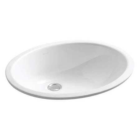 kohler undermount bathroom sink 17 x 14 in k 2210 0