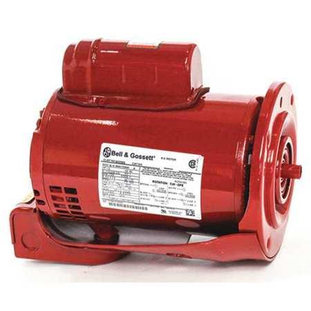 Xylem bell gossett motor 1 2 hp 1750 rpm 1 phase for Bell gossett motors