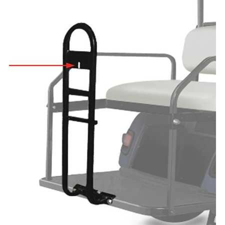 42PF62 Two Bag Attachment for Golf Cars