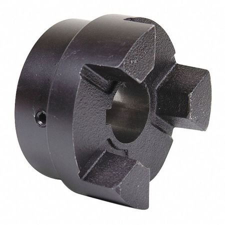 Jaw Coupling Hub, L190, Sint Iron, 1-1/2""