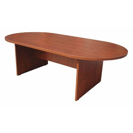 Boss Conference Table Oval Shape Lx W NC Zorocom - Oval shaped conference table