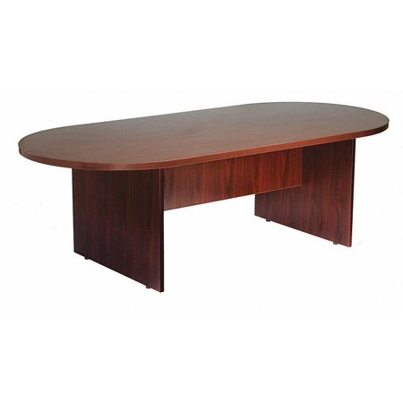 Boss Conference Table Oval Shape Lx W NM Zorocom - Oval shaped conference table