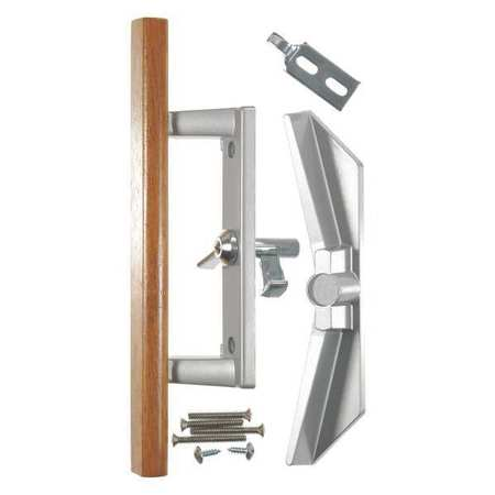 wright products patio door latch aluminum v1104