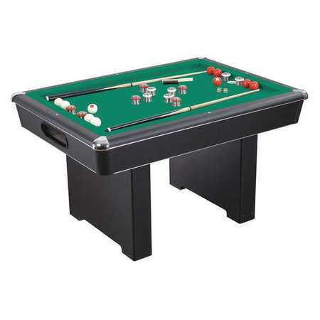 Renegade 54-In Slate Bumper Pool Table Set  sc 1 st  Zoro Tools : pool table set - pezcame.com
