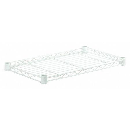 Honey-Can-Do Steel Shelf, 250lbs, White, 14x36 SHF250W1436 | Zoro.com