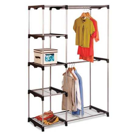 Great Double Rod Freestanding Closet