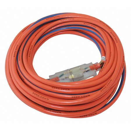 25 ft. 14/3 SJTW Lighted Extension Cord OR/BL