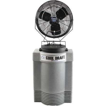 mid pressure misting fan w40 gal tank - Outdoor Misting Fan