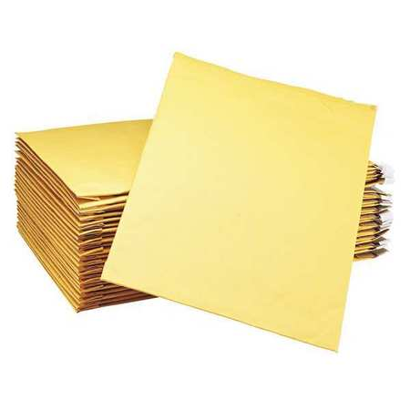 43HJ12 Mailer, 12-1/2 x 19 in., Gold Brown, PK25