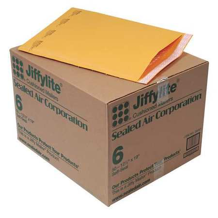 43HJ24 Mailer, 12-1/2 x 19 in., Gold Brown, PK50