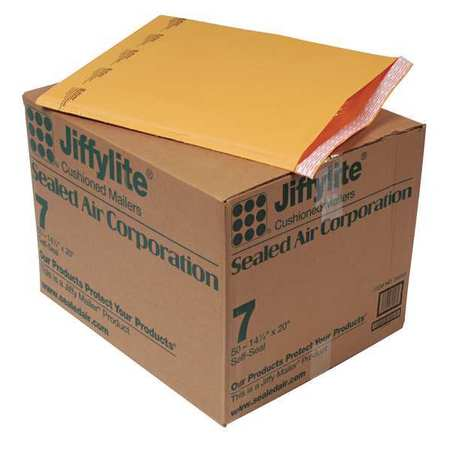 43HJ25 Mailer, 14-1/4 x 20 in., Gold Brown, PK50