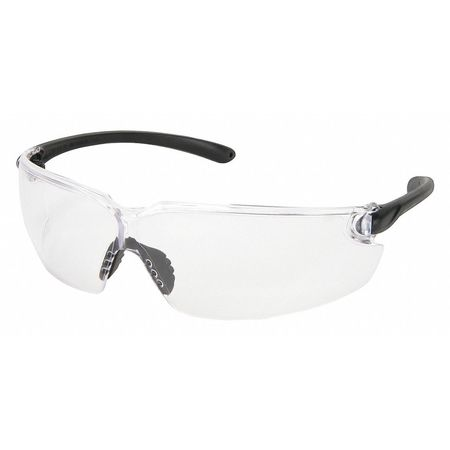 Safety Glasses, Clear, Scratch Resistant