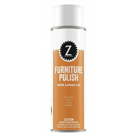 Furniture Polish, Lemon Scent, 19 oz.