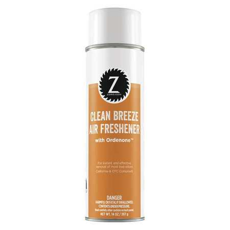 Air Freshener, Clean Breeze Scent, 14 oz.