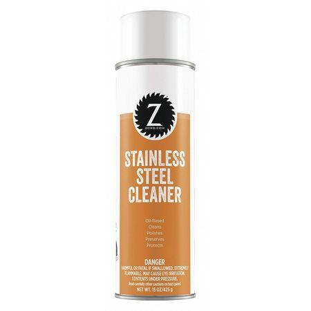 Stainless Steel Polish and Cleaner, 15oz.