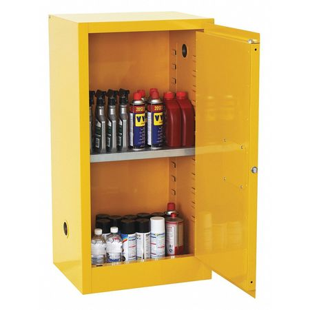 flammable safety cabinet 12 gal yellow