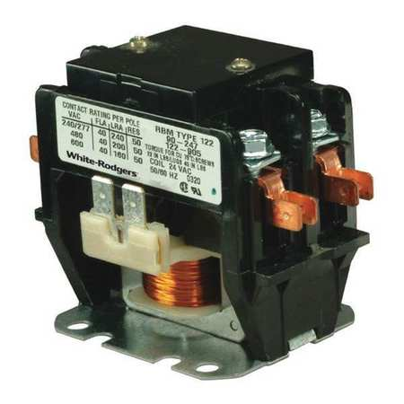 1 Each 30 Amps   90-246 90-246 White-rodgers Contactor 208//240VAC 2 Pole